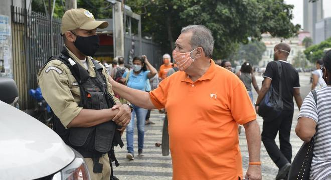 Fred Luz cancelou a agenda presencial até o final da campanha eleitoral