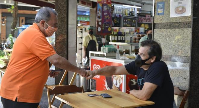 Fred Luz participou de encontro no Leblon