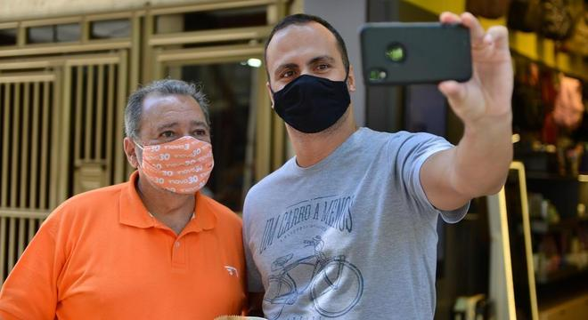 Fred Luz esteve na Tijuca
