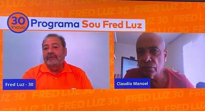 Fred Luz fez uma live