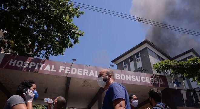 Prédio 1 do HFB foi interditado pela Defesa Civil do Município