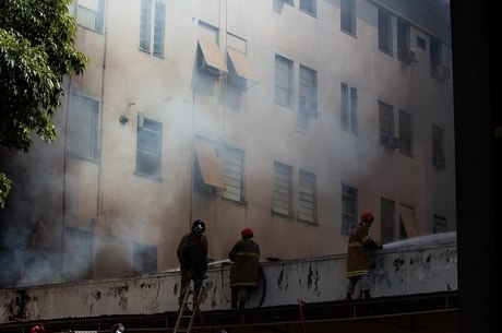 Perícia da PF só será feita após trabalho dos bombeiros