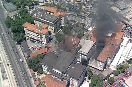 Incêndio atingiu prédio 1 da unidade