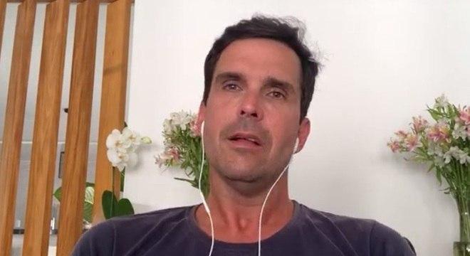 Luiz Lima participou de live