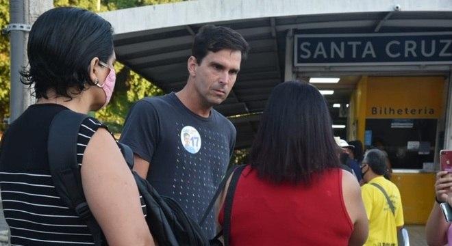 Luiz Lima visitou Santa Cruz