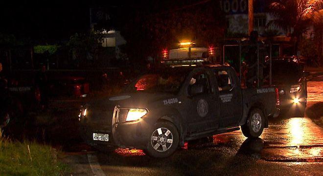 Inteligência da polícia monitorava suspeitos