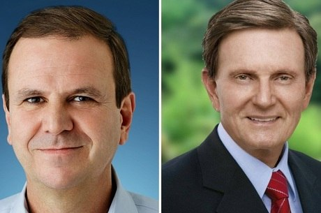 Paes e Crivella lideram intenções de voto