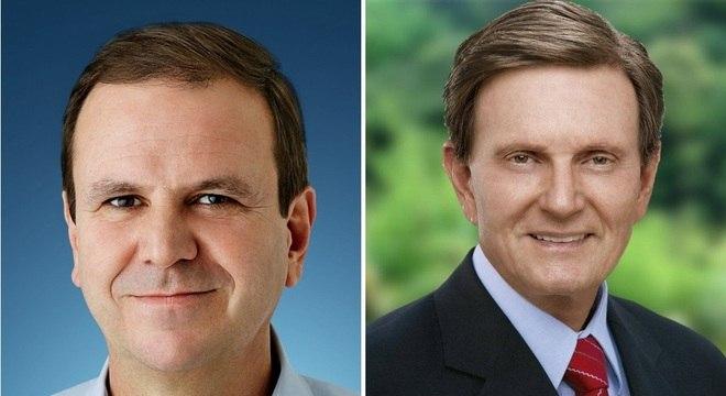 Eduardo Paes e Marcelo Crivella lideram pesquisa de intenções de voto