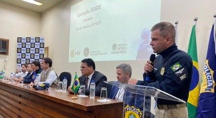 Evento de lançamento aconteceu na ponte Rio-Niterói