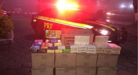 Mais de 400 kg de cocaína foram apreendidos