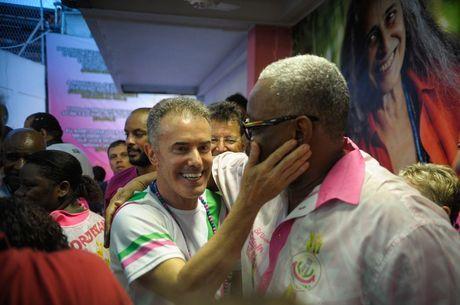 Deputado assumiu a presidência da Mangueira em 2013