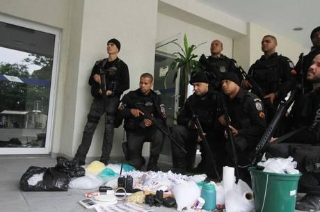 Apreensões foram levadas para Cidade da Polícia