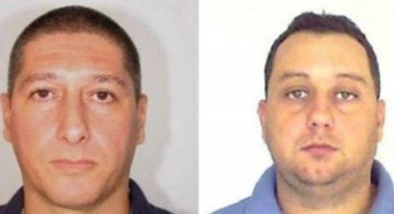 Ronnie Lessa (à esquerda) está preso atualmente, junto com Élcio Queiroz (à direita)