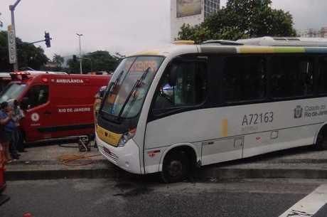 Colisão entre dois ônibus deixou dois mortos no Rio