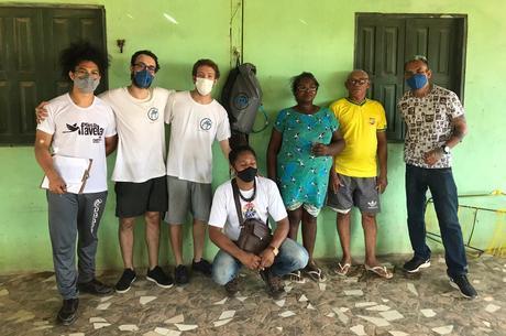 Jovens instalaram trinta kits em comunidades quilombolas no Amapá