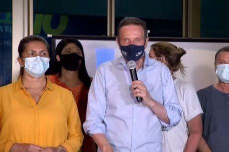 Crivella agradeceu apoio após perder a eleição no Rio