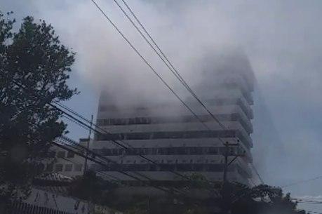Não há informações sobre feridos no incêndio