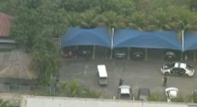 Crime ocorreu em estacionamento de heliporto