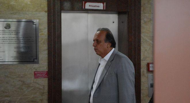 O ex-governador do Rio Luiz Fernando Pezão