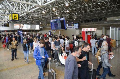 Autoridades se reuniram em aeroporto para debater coronavírus