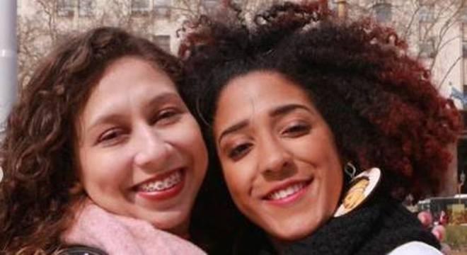 Nathaly Dias e Nathália Rodrigues em viagem para Buenos Aires, na Argentina