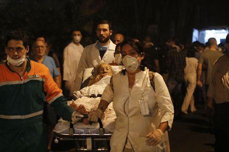 Incêndio no hospital fez 22 vítimas
