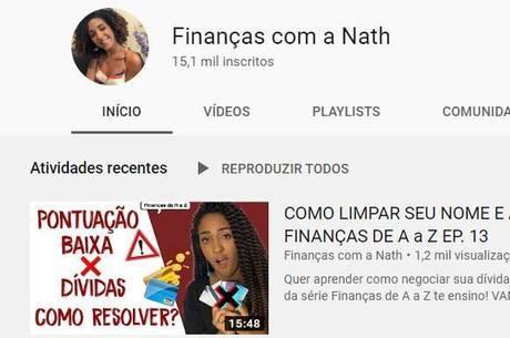 Nath ensina educação financeira para baixa renda
