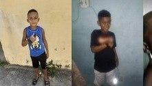 Sangue encontrado não é de meninos desaparecidos, diz perícia