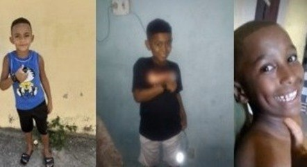 Os meninos desapareceram no dia 27 de dezembro