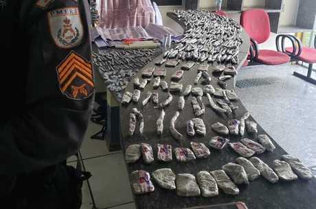Grandes quantidades de cocaína foram apreendidas