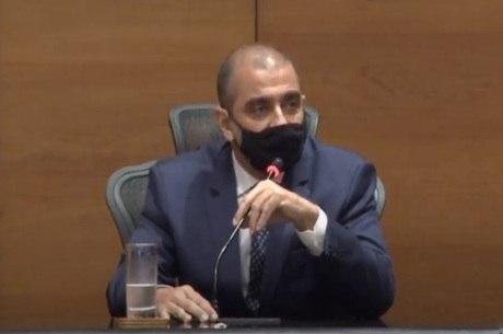 Edmar Santos é colaborador da Justiça