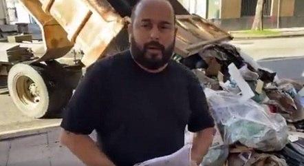 Prefeito despejou lixo na porta do Inea