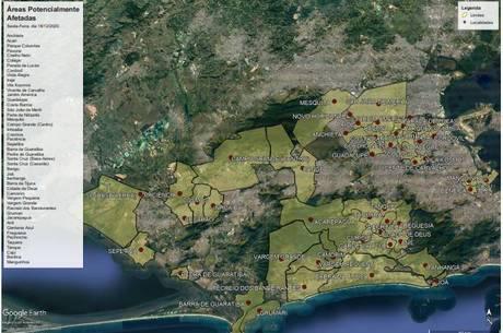 Mais de 40 bairros do Rio ficarão sem água nesta sexta