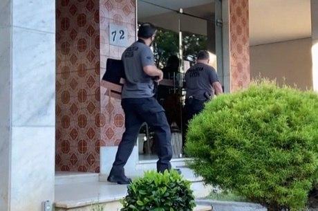 Polícia cumpriu mandados de busca e apreensão