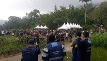 Festa clandestina com 5 mil pessoas é interrompida no Rio