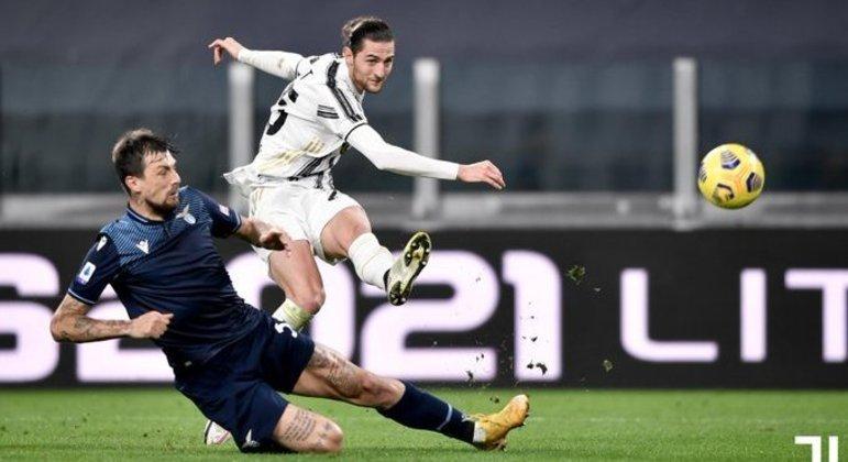 O momento do golaço de Rabiot, Juve 1 X 1 Lazio