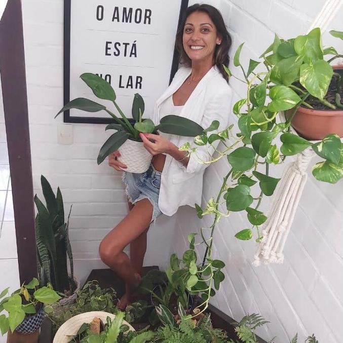 Pandemia levou Rachel Leão a investir na sua grande paixão: as plantas