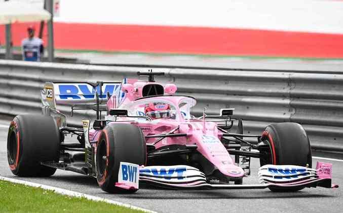 Racing Point, a 'Mercedes Rosa', andou bem nesta sexta