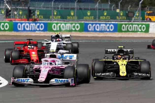 Racing Point foi alvo de novo protesto da Renault