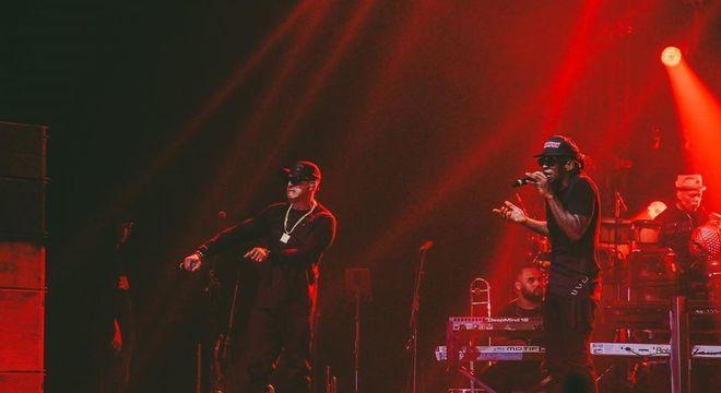 'Racionais MC's em turnê comemorativa pelos 30 anos do grupo
