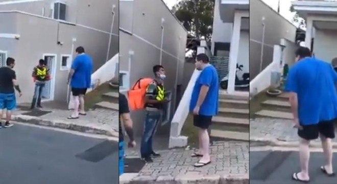 Motoboy sofre ofensas racistas durante entrega em Valinhos (SP ...