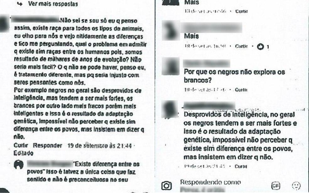 Postagens foram feitas em rede social e usadas para condenação