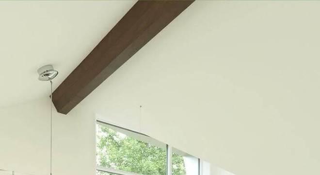 rack de madeira para sala toda branca
