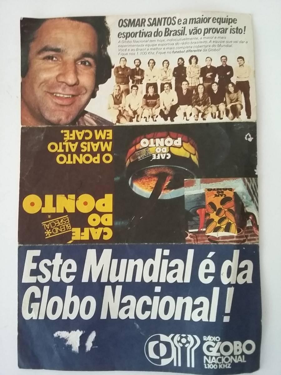 A Globo montou uma seleção na Copa de 78. Falta de rumo implodiu a rádio