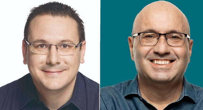 Rafa Zambardi e Dário Saadi