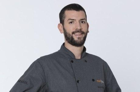 Rafael foi o segundo participante a deixar o Top Chef Brasil