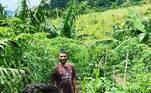 O engajamento do famoso com a sustentabilidade é tanto que, recentemente, ele mostrou um antes e depois de uma área reflorestada na propriedade rural.