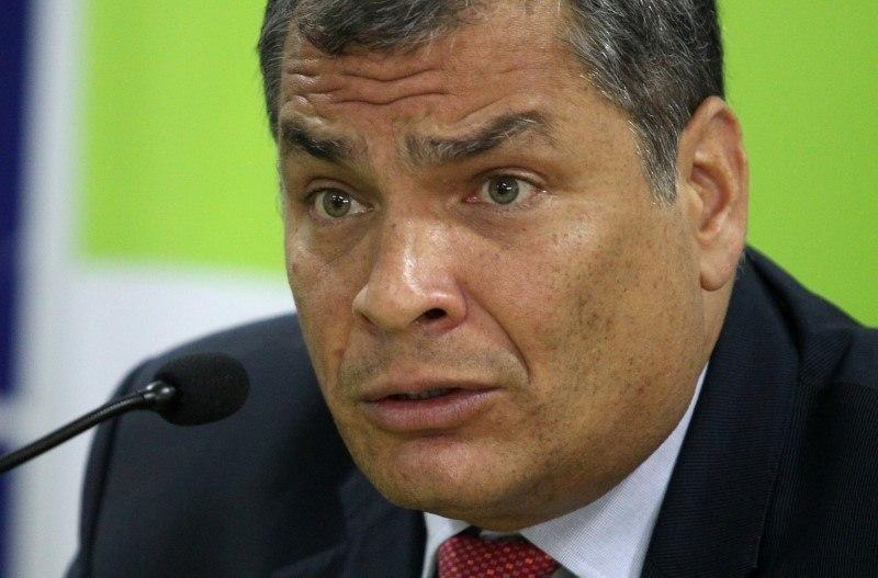 Ex-presidente do Equador Rafael Correa pede asilo na Bélgica