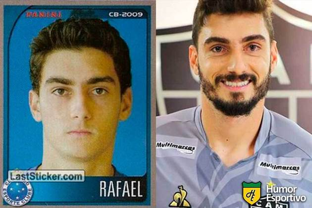 Rafael jogou pelo Cruzeiro em 2009. Inicia o Brasileirão 2020 com 31 anos e jogando pelo Atlético-MG
