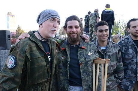 Rafael lutou ao lado de separatistas ucranianos
